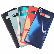 Rear Back Glass Battery Cover with Logo For Samsung Galaxy S10+ S10 Plus S10e