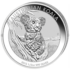 Australian Koala 2015 1/2 OZ Silber Silver Argent Australien Autralia Australie