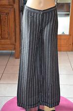 COP COPINE- joli pantalon large lin viscose modèle madeos T 36 EXCELLENT ÉTAT