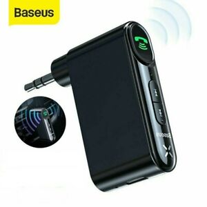 Baseus 3.5mm AUX Jack Wireless Bluetooth 5.0 Receiver Car Kit Speaker Adapter