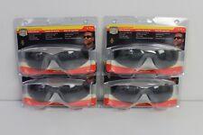 4 HONEYWELL SPERIAN XV101 Safety Eyewear w/ Gray Frame, Gray Lens and Hard Coat