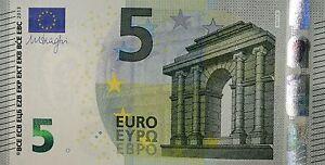 Ek // Billet 5 Euro Austriche Lettre N : N011 UNC