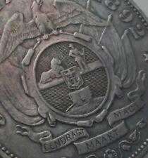SCC ZAR Transvaal S.Africa 5 Shillings 1892. KM#8.1. Silver Crown. Single Shaft.