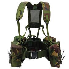 Chest Rig Dpm Tactical British Army Airborne Webbing Woodland Vest Modular - New
