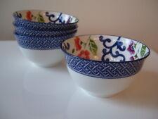 Ralph Lauren Mandarin Blue Set of 4 Dessert / Rice Bowls