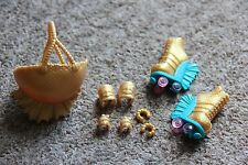 Monster High Wheel Love Lagoona Blue Accessories Helmet Skates Bracelets Pads