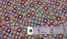 Tree house Club fabric MT5637-11 cream multi fat quarters