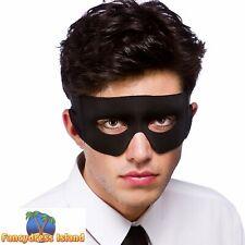 Bandit Highwayman Eyemask Superhero Adult Mens Womens Fancy Dress Accessory