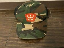 Scotty Cameron Cameron Golf Cap Crown & Co Rubber Patch Camo × Red Golf Hats