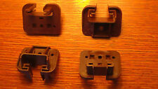 Set of 4 x Kenlin Rite-Trak I Drawer Guides Replacement Parts New Brown