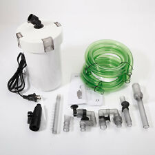 SUNSUN 110V Aquarium External Canister Filter with Pump,Filter Cotton,Water Pipe