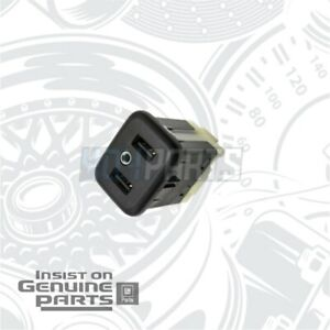 Genuine GM Dual USB Receptacle High Speed 13519224 Chevy GMC Buick Cadillac