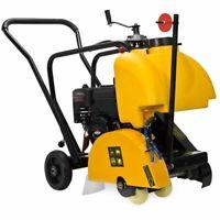 "14"" Gas Cut Off Saw Walk Behind Floor Concrete Cement w/ Briggs Stratton Engine"