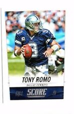 Tony Romo 2014 Panini Score, Football Card