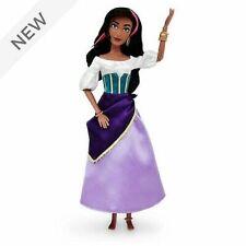 Disney Hunchback Of Notre Dame Esmerelda Classic Doll Entièrement neuf dans sa boîte