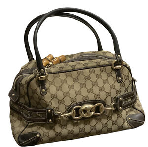 Gucci Bag Wave Boston GG Monogram Canvas