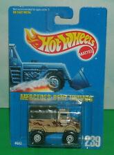 1/64 Scale Mercedes-Benz Unimog Army Truck Diecast Model - Hot Wheels 239 Camo