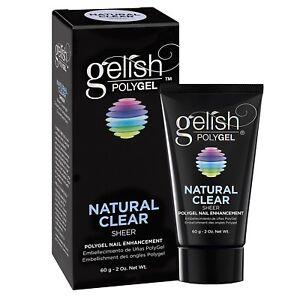 Gelish PolyGel Nail Enhancement Assorted Colors 2 oz..
