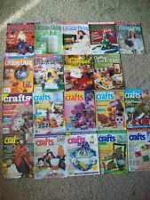 Quick & Easy Crafts Magazine Lot Aleenes Creative Living Crafting Traditions