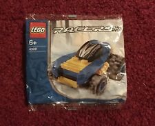 Lego New Blue Racers 4309 Mini poly bag Retired Promotional Set