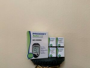 Prodigy AutoCode Blood Glucose Meter + 200 Strips & FREE Freaky Fast Shipping!!!