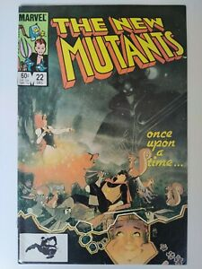 NEW MUTANTS #22 VF Marvel 1984