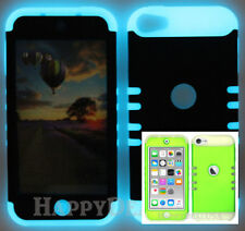 For Apple iPod Touch iTouch 5 | 6 - KoolKase Hybrid Cover Case - LIME GREEN (R)