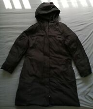 TNF The North Face Women's Black Down Long Coat Size XL Used Condition