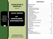 John Deere LF Fertilizer Distributor Operators Manual OM-M37-457