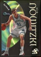 1998-99 E-X Century #68 Dirk Nowitzki Dallas Mavericks Rookie Card