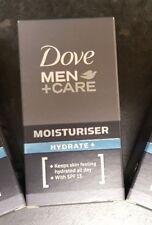 New & Boxed Dove Men+Care Hydrate+ Moisturiser SPF15 50ml