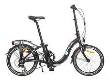 "POPAL Volver a cargar 20 Pulgadas Bicicleta Plegable 20"" 6 marchas F201"