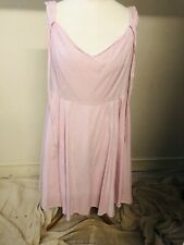 Hell Bunny 3XL Baby Pink Summer Dress New