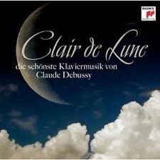 CLAIR DE LUNE-DIE SCHÖNSTE KLAVIERMUSIK VON DEBUSSY CD NEW+ DEBUSSY,CLAUDE