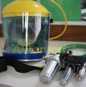 Pro AIR FED Visor breathing RESPIRATOR KIT For Anest Iwata Gas PAINT SPRAY Mask