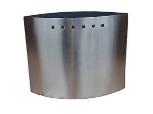 Edelstahl Raum Luftbefeuchter Ellipse 0,65 l Verdunster Elliptic für Kaminofen
