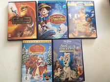 Walt Disney [5 DVD] Susi Strolch 2 + Bärenbrüder + König der Löwen + Pinocchio