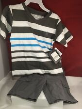 English Laundry Boys 2 Piece Summer Shorts  Outfit Set  2T NWT
