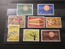 EUROPE, LOT timbres oblitérés EUROPA, TB, VF cancelled STAMPS