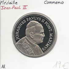 MEDAILLE Commémorative - PAPE JEAN-PAUL II // Qualité: NEUVE