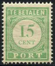 Curacao 1915-39 SG#D100, 15c Green Postage Due MH P12.5 #E13782