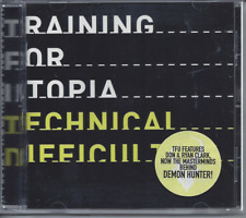 Training For Utopia-Technical Difficulties CD Christian Metalcore/Punk Brand New
