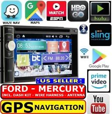 Ford Mercury Gps Nav W/ Wifi System Bluetooth Dvd Cd Usb Aux Car Radio Stereo