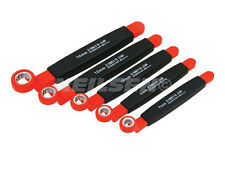 NEILSEN Tools 5pc VDE Insulated Ring Spanner Wrench Set 1000V 7-14mm ct3946