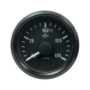 VDO SingleViu 2426 Engine Oil Temperature 150 C 18.6 OHM Black 52 mm-2 1/16'