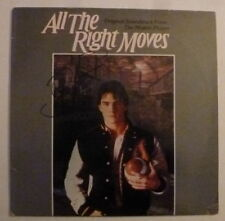 "Tom Cruise ALL the RIGHT MOVES Signed 12"" Vinyl Album Cover AFTAL"