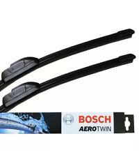 "Audi A8 S8 09 Onwards Bosch Front Windscreen Wiper Blades Aerotwin 27"" 21"" A587S"