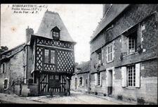 ROMORANTIN (41) Façade MAISON du XV° Siécle , cliché début 1900