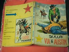 PICCOLO RANGER- N° 65- ORIGINALE 1° EDIZIONE -DEL 1969- ALBI DEL  COW BOY- RARO