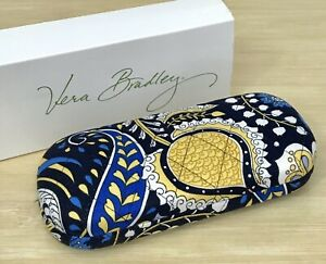 Vera Bradley Hard Eyeglass Case in Ellie Blue